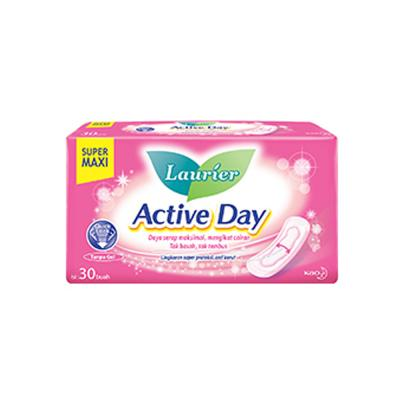 Laurier Active Day Super Maxi Non Wings 30 Pads