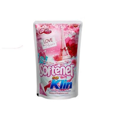 Soklin Softener Pouch Love In Paris  900ml - Pink