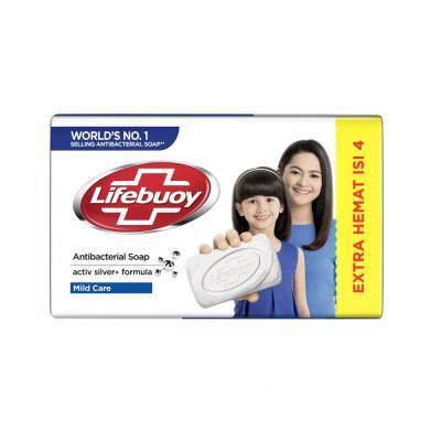 Lifebuoy Barsoap Mild Care 4 x 110gr - Putih