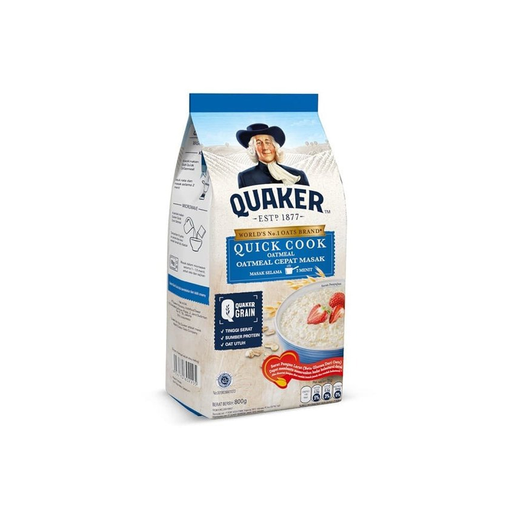 Quaker Oatmeal Instant 800gr (BLUE)