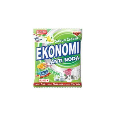 Sabun Ekonomi Cream Lemon 455ml - Hijau