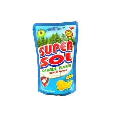 Super Sol Karbol Wangi Refill 800ml - Lemon