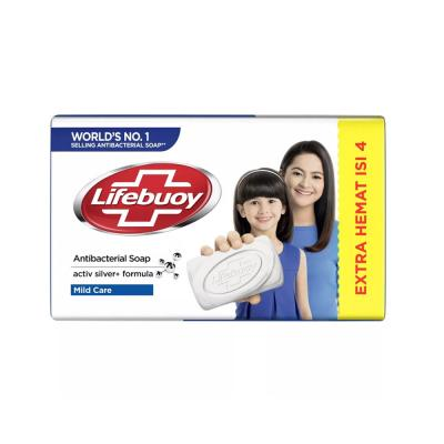 Lifebuoy Barsoap Mild Care 4 x 110gr - Putih