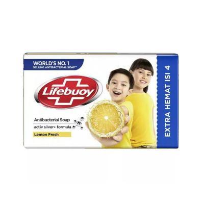 Lifebuoy Barsoap Lemon Fresh 4 x 110gr - Kuning