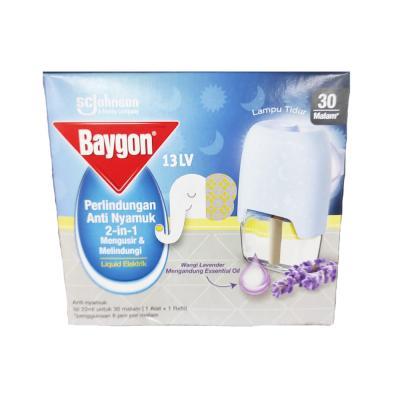Baygon Liquid Elektrik Starter Refill 22ml Lavender