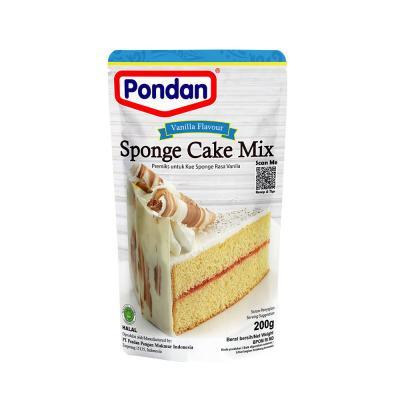 Pondan Sponge Cake Rasa Vanilla 200gr