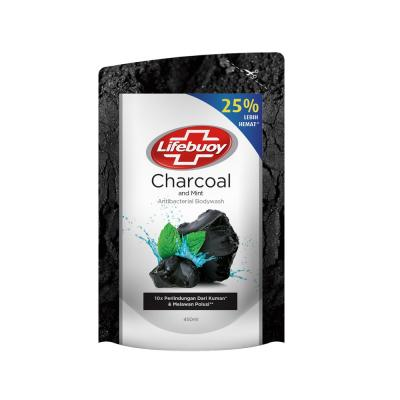Lifebuoy Body Wash Charcoal Pouch 450ml